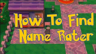 Pokemon Omega Ruby & Alpha Sapphire Tips : How To Find Name Rater House Location