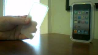 ipod touch 4g unboxing with free cover from amazon