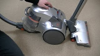 Vax Air Silence Powerhead Cylinder Vacuum Cleaner Demonstration & Review
