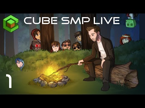 Minecraft:  Cube SMP LIVE - Ep 1