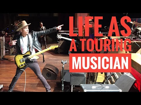 What It's Like Being A Nashville Touring Musician | Life On The Road | Vlog