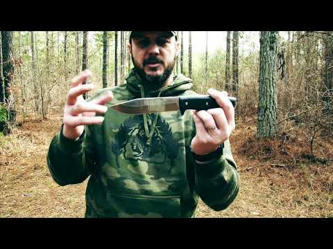Survival Lilly's APO 1 Knife Review