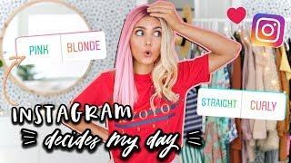 Instagram Controls My Life For A Day!   Aspyn Ovard
