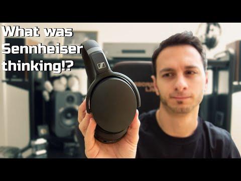 External Review Video NO0E8Hqw7ho for Sennheiser HD 350BT & HD 450BT Wireless Headphones