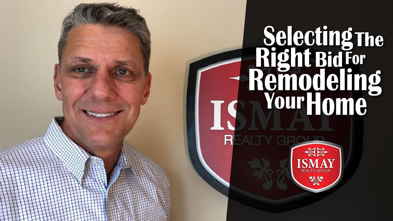 What Every Homeowner Must Know About Selecting a Remodeling Bid