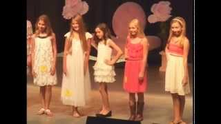 Petite Miss & Junior Miss Pageants - 2014 Williamson County Fair