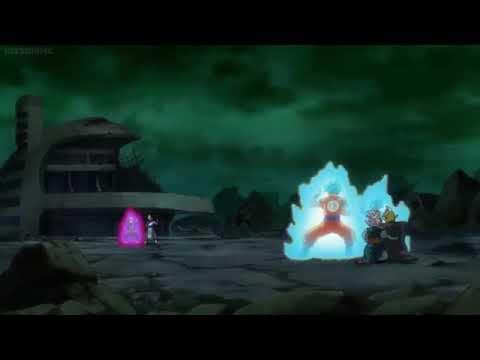 SSJB Vegeta vs SSJ Rosé Goku Black Rematch - Dragon Ball Super