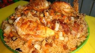 Chicken kabsa traditional saudi arabian kabsa rice arabian dish fried chicken maqlooba full recipe forumfinder Choice Image
