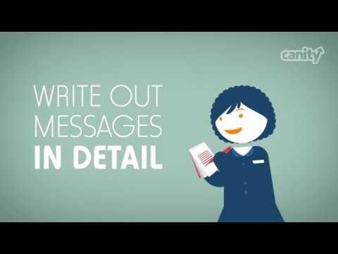 Reception Skills Training - Note Taking - YouTube