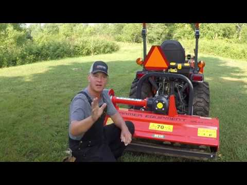 NEW 3 point hitch Flail Mowers 48