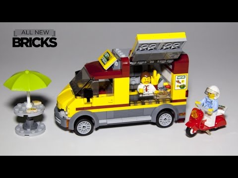 Vidéo LEGO City 60150 : Le camion pizza