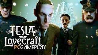 Tesla vs Lovecraft Gameplay (PC HD)