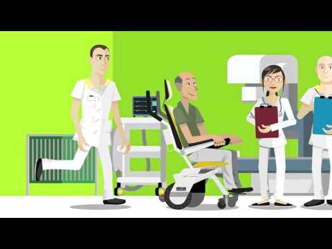Tweegy - The most universal patient transfer chair