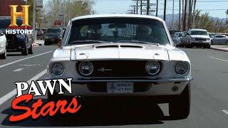 Pawn Stars: Rick Won't Negotiate on a 1967 Shelby G.T. 350 (Season 10) | History