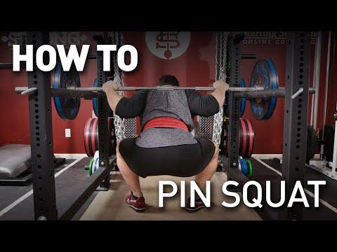 Barbell Pin Squats
