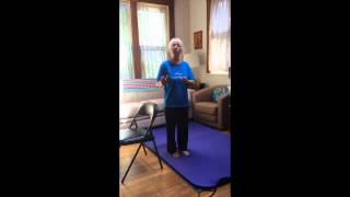 Releasing the Quadriceps from Standing