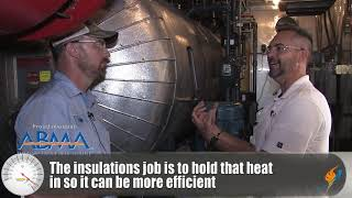 Insulating a Boiler Room - Boiling Point
