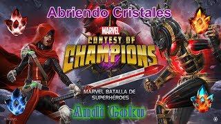 Abriendo Cristales EL DIA DE LA SUERTE)- MARVEL Batalla de Superhéroes