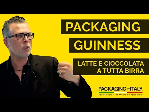 Packaging Guinness: latte e cioccolata a tutta birra