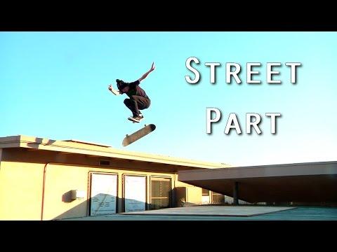 Jeff Dechesare Street Skateboarding Part