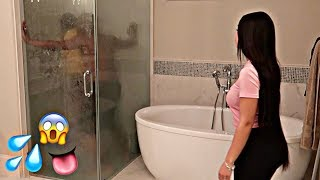 CAUGHT IN THE SHOWER PRANK WITH BIANNCA