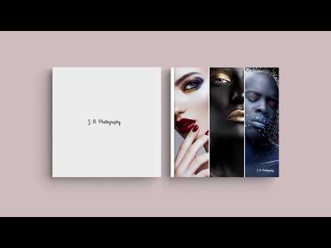 Inspiration for Your Photo Book Cover – 'Photographic Portfolio'