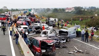 Жестокие аварии 2017 подборка