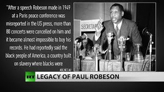 Paul Robeson's politics may have cost him his life and career