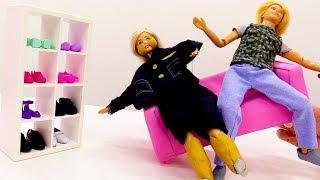 Barbie muñeca. Vida saludable. Vídeos para niñas.