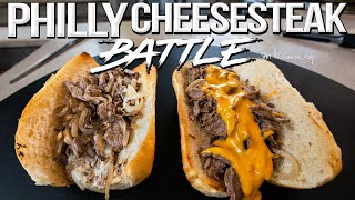 The Best Philly Cheesesteak Recipe - Cheese Whiz vs. Provolone? | SAM THE COOKING GUY 4K