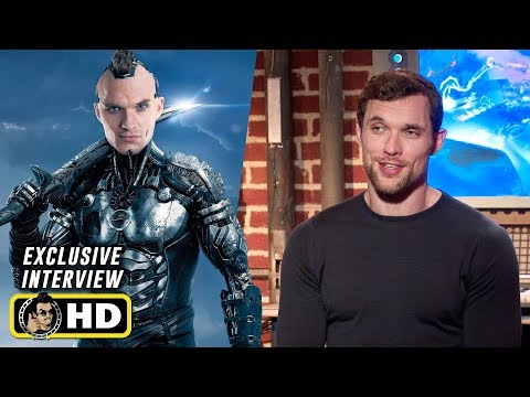 Ed Skrein Interview for Alita Battle Angel