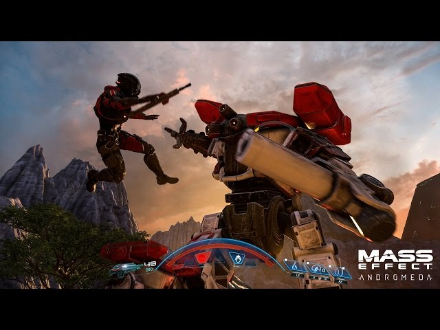 This is what Mass Effect: Andromeda looks like in 4K HDR, simpl