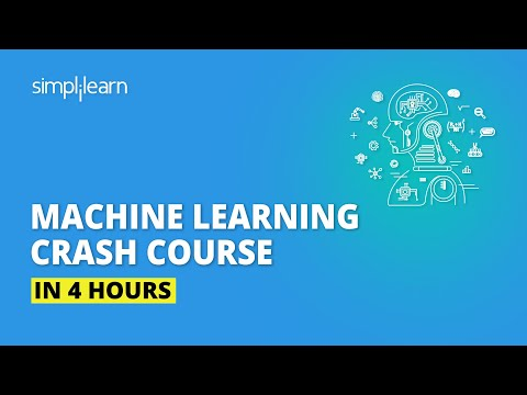 Machine Learning Crash Course In 4 Hours | Machine Learning ...