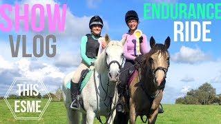 Show Vlog   Endurance Charity Ride   This Esme