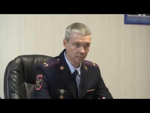 Личному составу представлен начальник ОМВД России по Ленинскому району г. Томска