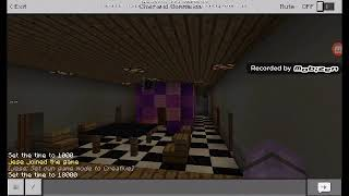 Minecraft Five Night At Fredy1 Night 1 Play As Bonnie