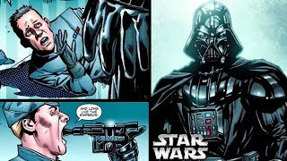 Vader's BRUTAL Rampage on Imperial Officers that Humiliated Him and the Emperor! (Legends)