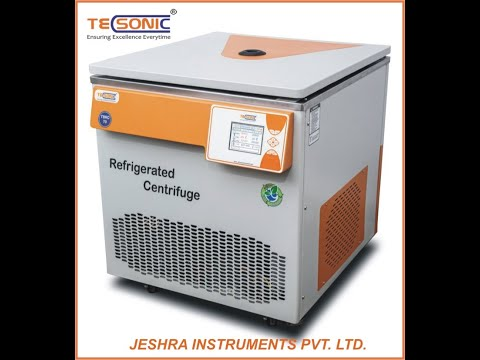 TECSONIC Blood Bank Refrigerated Centrifuge