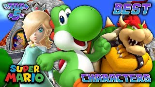 Top 5 Best Super Mario Characters