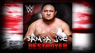 WWE NXT: 'Destroyer' [iTunes Release] by CFO$ ► Samoa Joe Theme Song