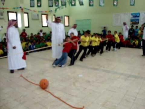 الالعاب الرياضية لليوم المفتوح بالمدرسة السعودية بأملج (الصفوف الأولية )1