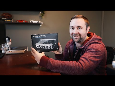 Komplete Audio 6 ~ USB Audio Interface Unboxing and First Look!