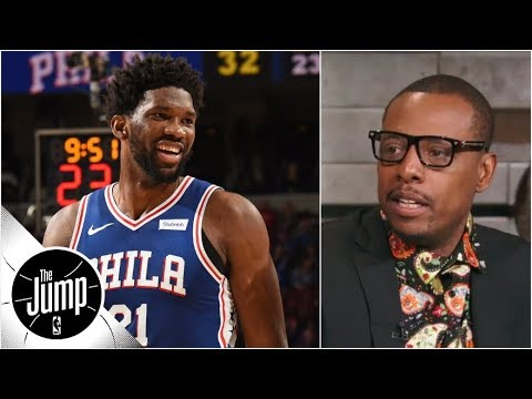 Paul Pierce on Joel Embiid's minutes: 'You've gotta bring that down' | The Jump