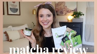 Taste Test & Review Of Amazons Most Popular Matcha! | Honest Review