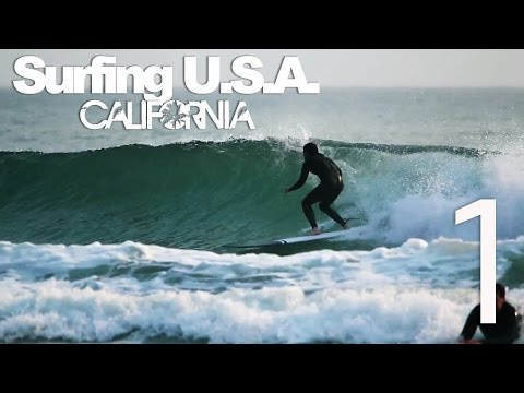 Surfing USA: CALIFORNIA [Part 1] - LuzuVlogs
