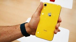 Первый обзор iPhone XR