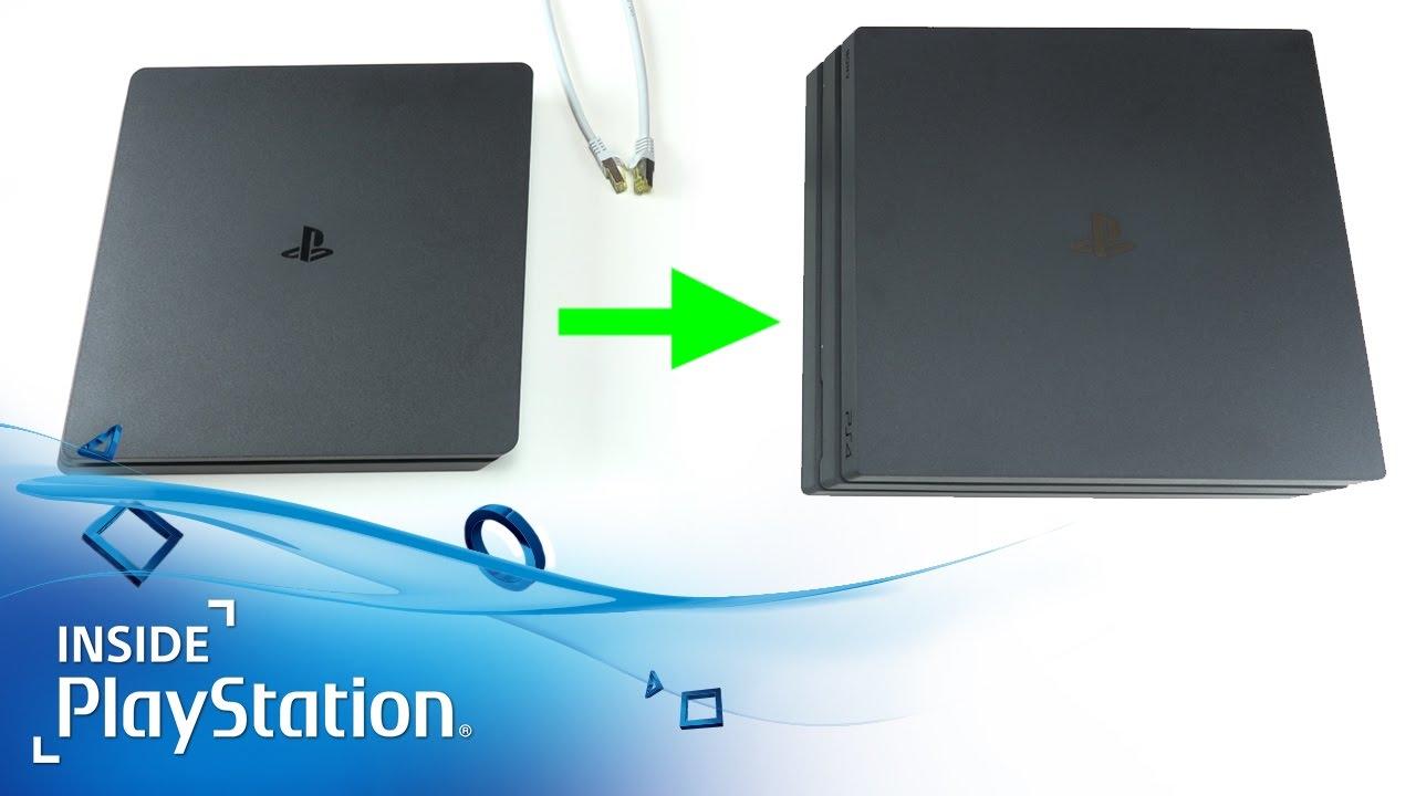 So übertragt ihr alle eure Daten von PS4 auf PS4 Pro