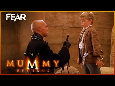 Alex Tries To Escape | The Mummy Returns