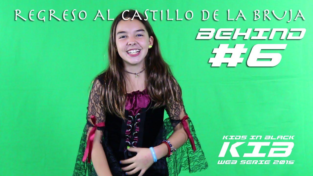 Regreso al Castillo de la Bruja -  Kids In Black 2015 - Detrás de las cámaras #6
