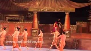A Manipuri dance
